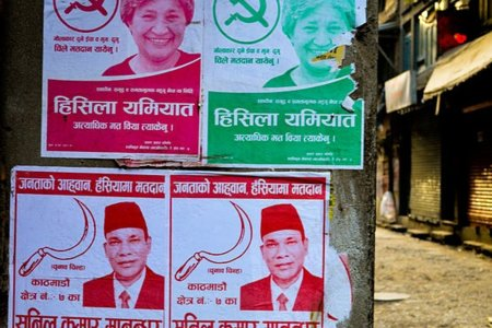 Maoists_looking_for_votes By Francisco Anzola CC BY 2.0