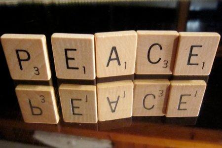Work for peace by Kate Ter Har with CC licence from Flickr https://www.flickr.com/photos/katerha/5011523462/in/photolist-8CRnjW-oFSaei-5e9qcX-rvmzmD-pdSx5r-oYmgzF-9Mhgft-7jGbHy-cYLet-saHduV-83nREN-oFSba6-rFbxH4-cjNfZ3-oFRVdo-67sL-pdRmRK-7p5spj-87yiWG-pdRicF-bWY6xp-4euk4W-c7VsWj-oWjZBd-oFSjH1-pdSdew-pdSchw-kG89h9-amc765-efXH33-j2cFL-s8Qjpg-pvmuLp-2b7iXd-rFbxvv-rF4e2m-rF4e5C-7XHiH-5ZDNCC-oYjqYS-bBsQCu-6R5wZv-ptjqMj-pdRnC4-6s7JNz-oWjZAG-oFR6To-rnkqJa-pdRpJt-kUP42N