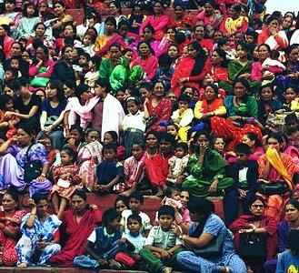 Durbar crowd by Brigadier Chastity Crispbread adapted with cc license from Flickr: http://www.flickr.com/photos/97938415@N00/3776801969/in/photolist-6KK6Dk-6KPcSh-d9UdnD-5X5hQ-bF36is-cf9BKm-cjJXGN-975jAX-9TYwgs-975j1c-4GgT27-cjGYXd-6dQ6wc-7zxwmK-gxBwug-cUGszq-cUFwkf-cKqfyb-cKqd9m-9XN5PS-6dUekY-4LHTAz-cUFjgY-f3osCN-bF31EC-bTWL6g-bF31HG-9j9yzW-7eKNym-6eYTvE-ahPMMk-4742di-7FtMbq-7FtMbA-7FtMbs-7FtP3S-7FtP3Q-7FtP3L-7FtP3A-7FtMbd-7FtMbw-7FtP3u-7FtMbG-wDEx7-66u9D7-akWJu6-baGWbP-6i4Qh-bK8akP-5xfqNY-bUsUdL
