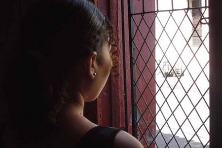 A young survivor of sexual violence at a women\'s and girl\'s centre by Amnesty Interational