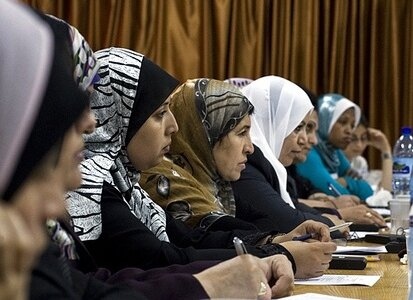 Global Open Day for Women and Peace, Gaza by UNIFEM under CC license on Flickr