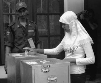 Resounding Victory for Democracy in Aceh by WILPF with cc license
