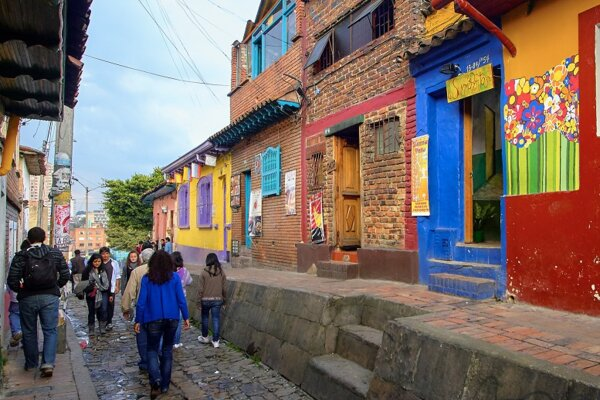 Bogota_Colombia by Pedro Szekely CC licence from Flickr (CC BY-SA 2.0)