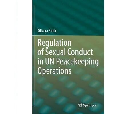 Olivera Simic, Regulation of sexual conduct in UN peacekeeping operations