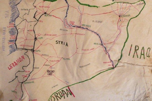 Baghdad cafe - mapa by imarigorta