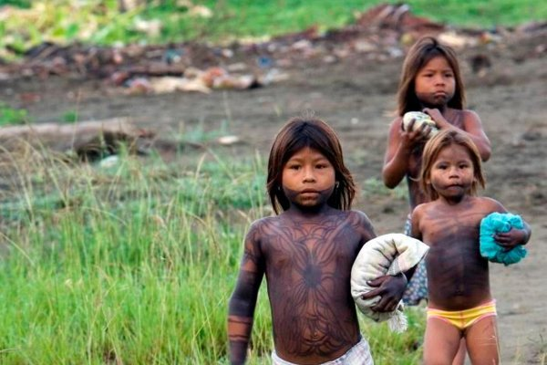 Internally Displaced Indigenous in Colombia by United Nations Photo
