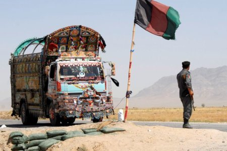 Jingle truck at checkpoint along Afghan-Pakistan border IS2007-7389 by lafrancevi