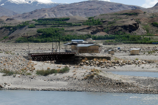 Border Afghanistan-Tajikistan by Sugarmelon.com