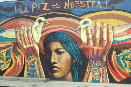 Street Art Bogota Colombia by Juan Cristobal Zulueta with CC licence from Flickr https://www.flickr.com/photos/28312366@N08/14351292446/in/photolist-nSb8fE-qPyk2u-4L9c5F-oUJ4Dy-rJuygk-bjvfNY-9ds1WU-h1cREV-nWj1ci-a8UP9N-rrV3mA-rs3z3x-7GVdTf-a77orD-efPHfj-apirTx-adW4kV-8Jgvxg-afZWRJ-ekDAM4-atHgxz-qMuRyW-aaWC1F-aqqNtV-isvqfg-atKVJE-h1cTW8-oMpfio-mEkAys-o1itGw-osSCV3-ouDW5D-qPwUqq-9H44cm-nC2ZUk-fZTmNS-7Sh71o-qsBHEo-8tsNqC-neEJ7W-bH85vt-9pjdb8-fszf4a-ac7eWm-noQFDH-qD9aJ4-iY178x-nYUm9-4qNfmL-epa3XZ