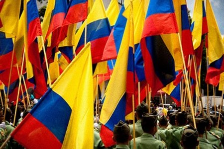 Ahí va Colombia... by Lucho Molina with cc license from Flickr