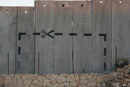 Bethlehem Wall creative graffiti by delayed gratification with CC license from Flickr https://www.flickr.com/photos/joshhough/321999512/in/photolist-dWW21h-uskeJ-cRKjvh-9kFRs