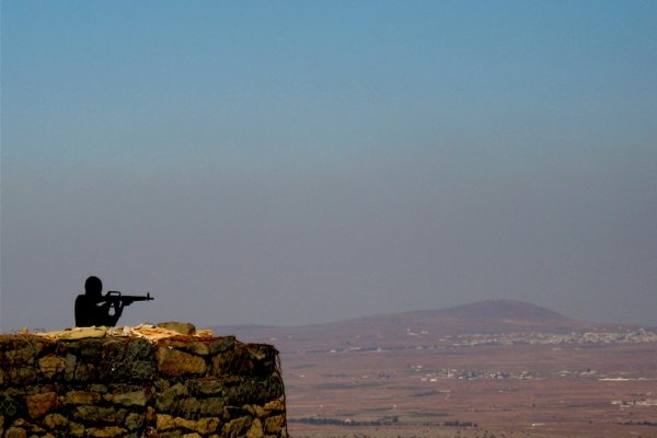 Golan heights by mockstar