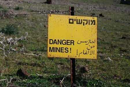 Danger Mines by mlwoodchuck with cc license from Flickr