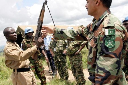 UN Operation in Burundi disarms rebel forces by United Nations Photo