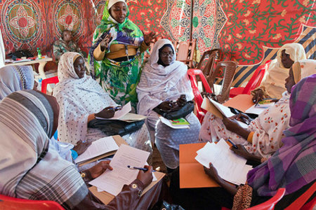 Workshop on UN resolution 1325 in Malha, North Darfur by UNAMID under CC license on Flickr